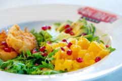 Halloumi & Pomegranate Salad