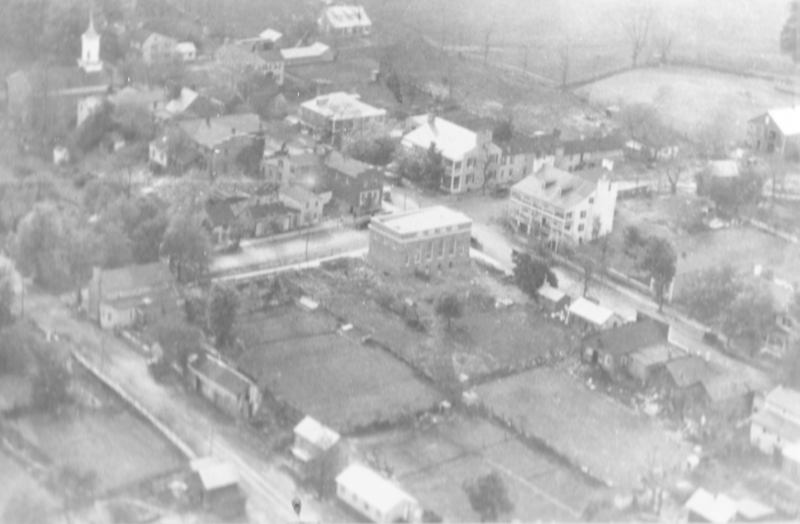 Aerial View of Middleburg, 1926