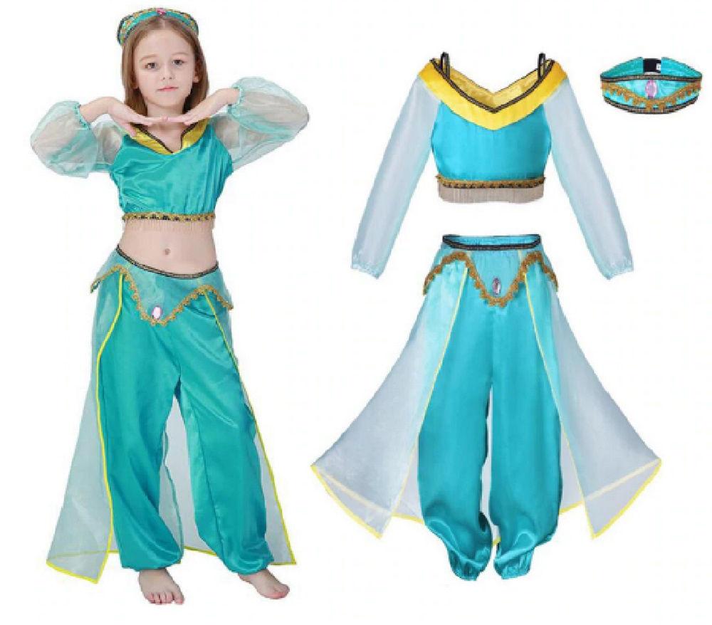 arabian princess costume(3 piece set) inspireddisney aladdin