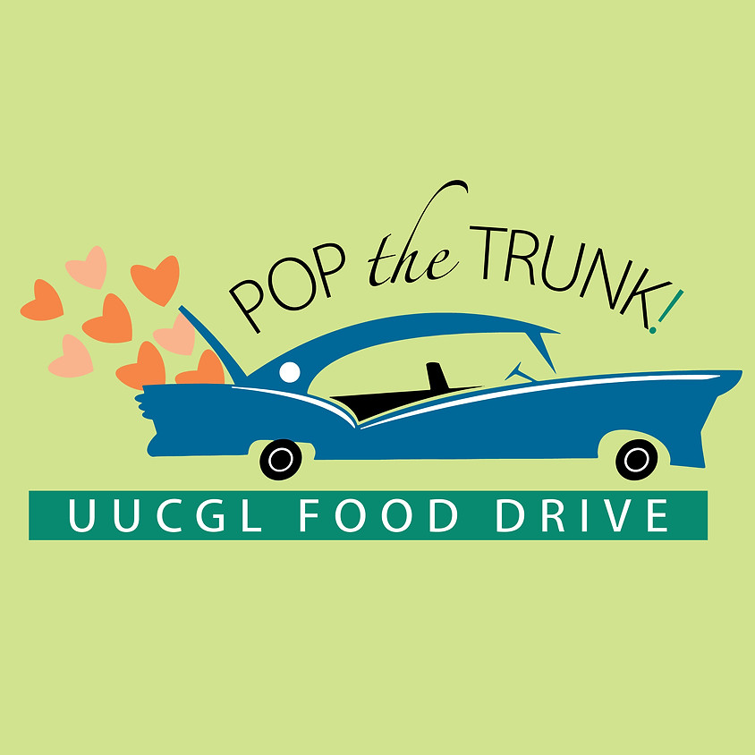Pop the Trunk! Food Drive