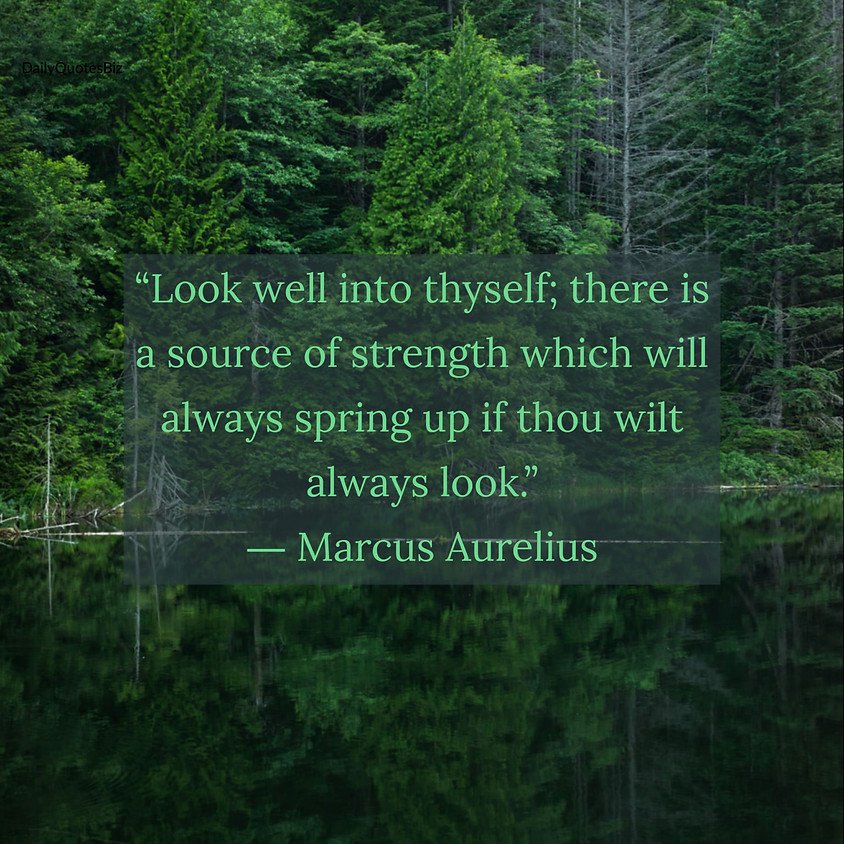 """Sunday Service—""""The Stoics and Me: A Year With Marcus Aurelius & Co."""""""