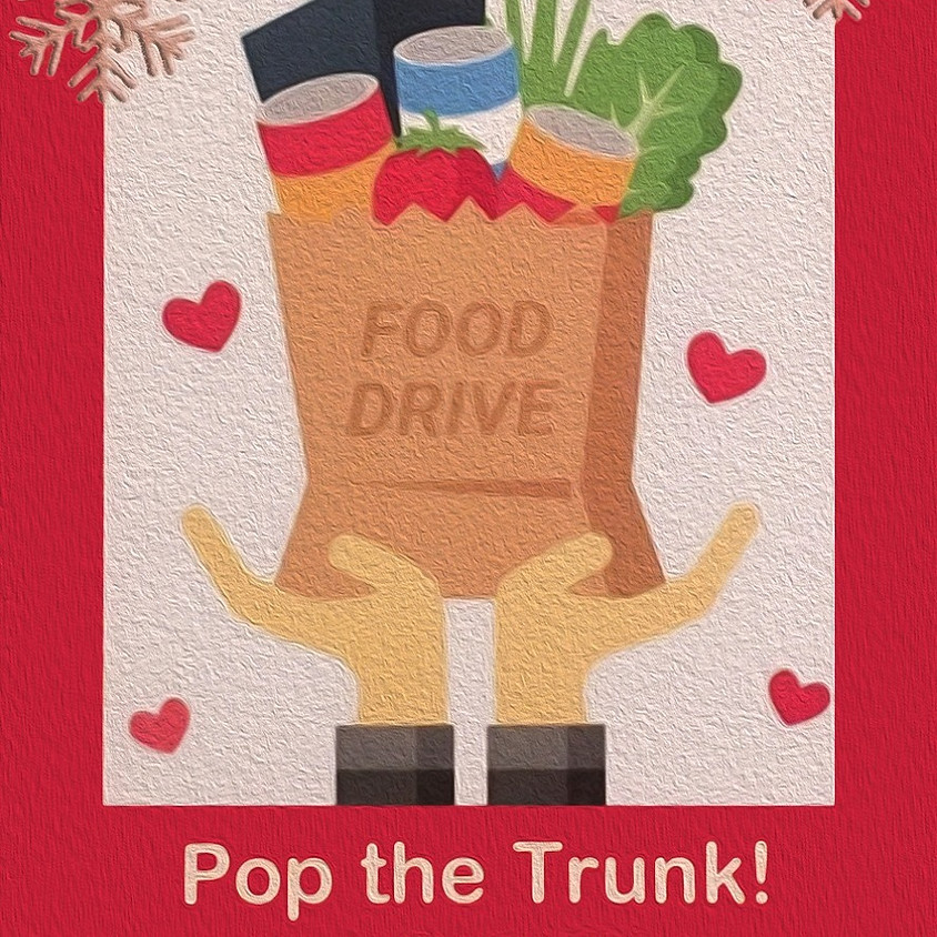 Pump the Trunk—Holiday Food Drive!