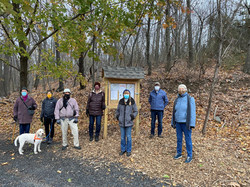 GSMT members hike the Forest River trail.