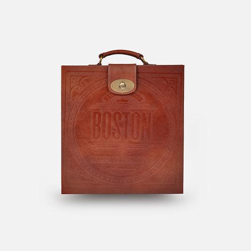 Hyde Portable Briefcase Bar, Tan