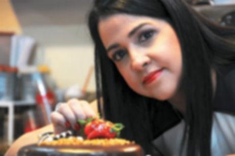 Magda Guerrero, propietaria de Pastry Repostería