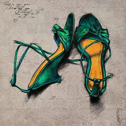 Put on your green shoes and walk wit