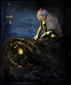 Ein Stein und ein Kreis