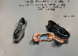 The secret life of shoes. Submission