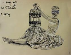 Vanilla gown/Ванильное платье
