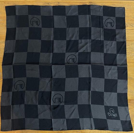 Lenço de seda Dimi Custom® Winner Black