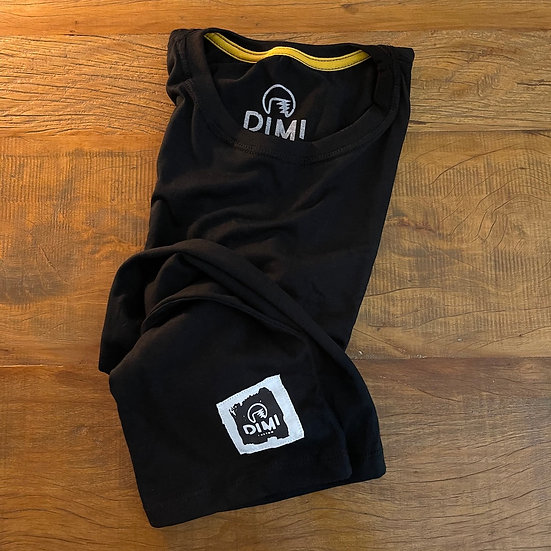 T-Shirt Dimi Custom® Dimi Couple - Preto e Branco