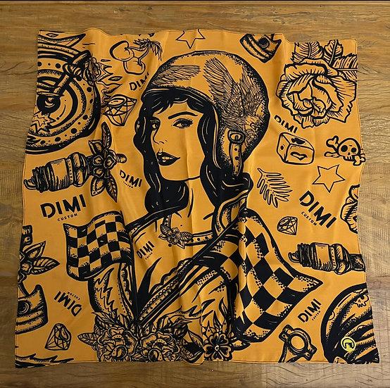 Lenço de seda Dimi Custom® Dimi Girl