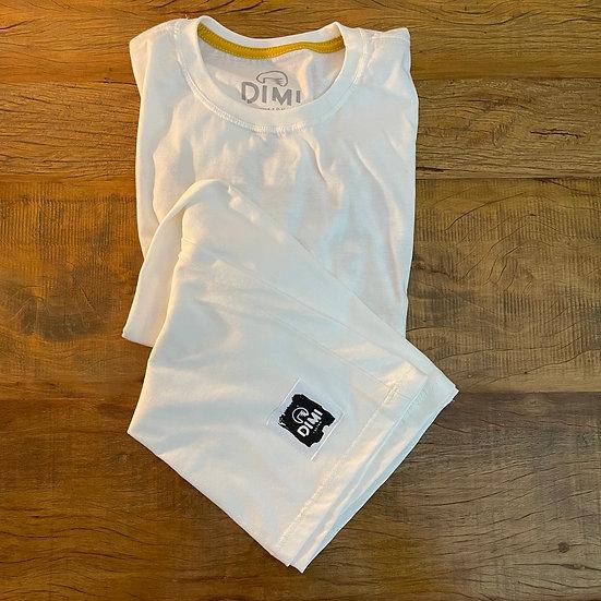 T-Shirt Dimi Custom® O GRITO - Marfim