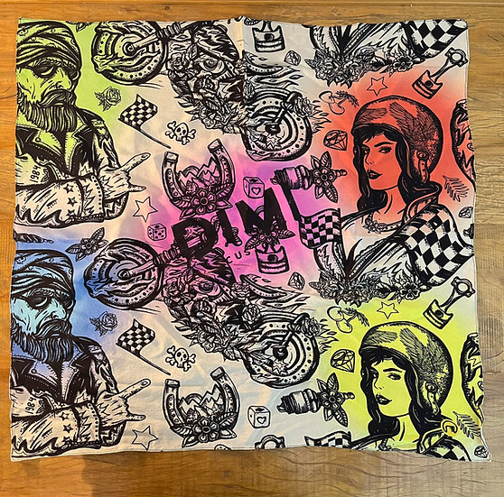 Lenço de seda Dimi Custom® Dimi Couple Color