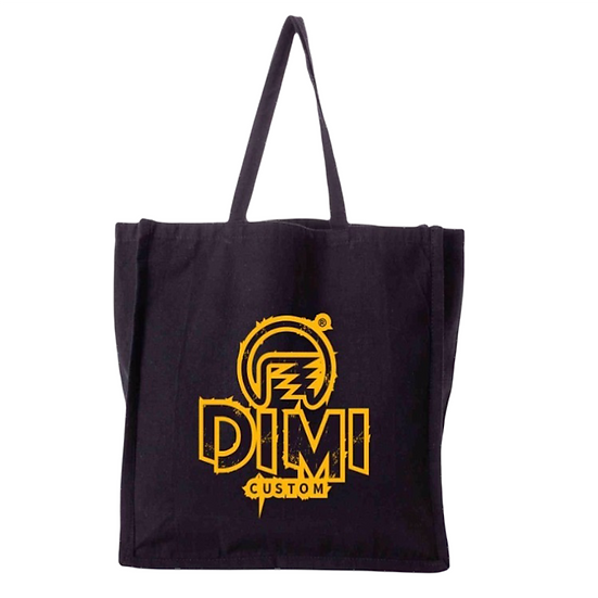 Kit Ecobag e Estojo Ecológico Dimi Custom® - Preto