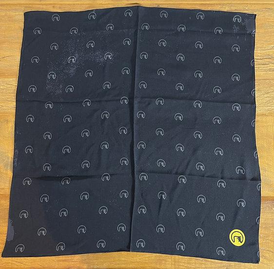 Lenço de seda Dimi Custom® Dimi Pattern Black