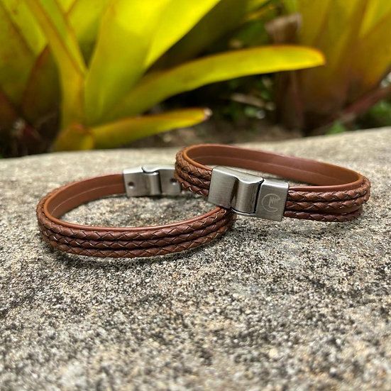 Pulseira Dimi Custom® Interlagos Brown