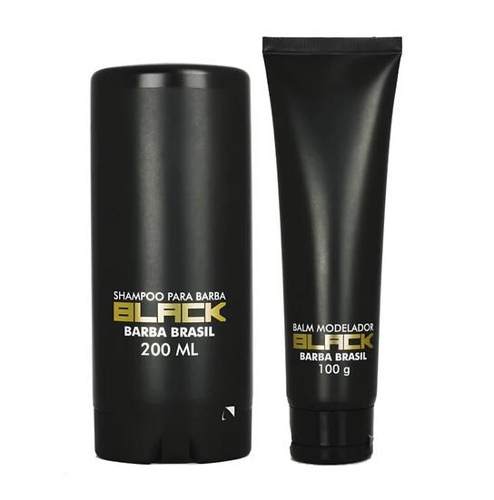 Kit Barba Curta - Black