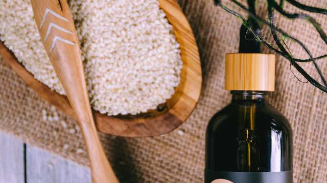 Organic Cold-Pressed Sesame Seed Carrier Oil