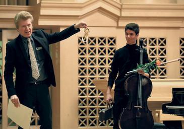 Třináctý ročník Vychytilovy violoncellové soutěže má absolutního vítěze z Madridu