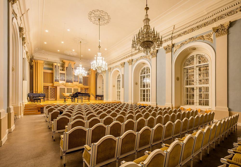 the Martinů Hall, Liechtenstein Palace Malostranské náměstí 13, Prague 1