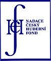 Logo Nadace český hudební fond