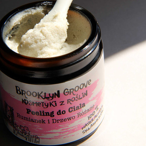 Body Scrub - Chamomile and Rosewood