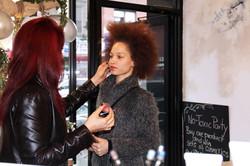 Brooklyn Groove, makeup artist Tara