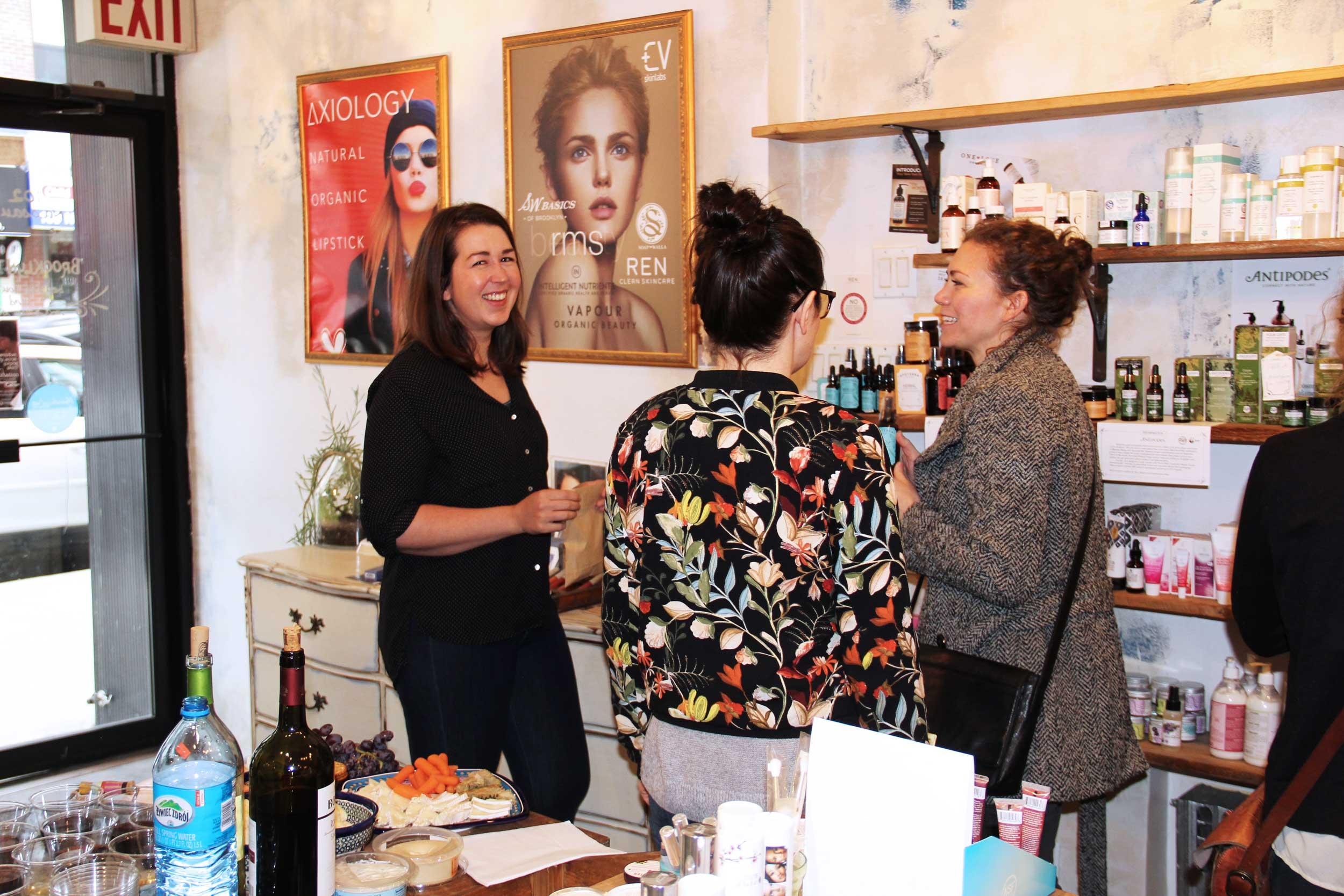 Apoterra Skincare w Brooklyn Groove