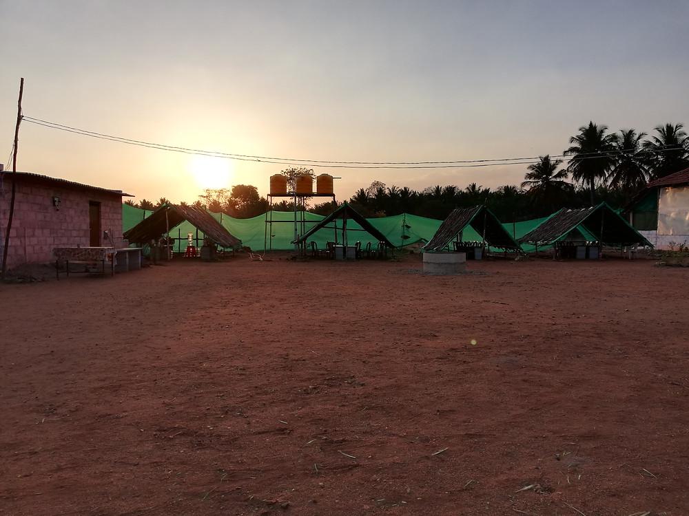 Ashram, Mysore, India
