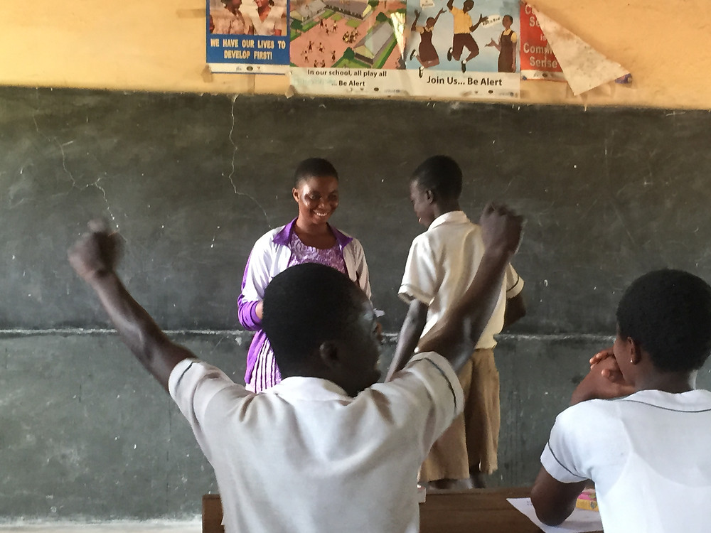 Students in Ghana feel empowered
