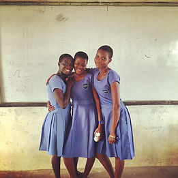 Ghana education NGO, friendship, students