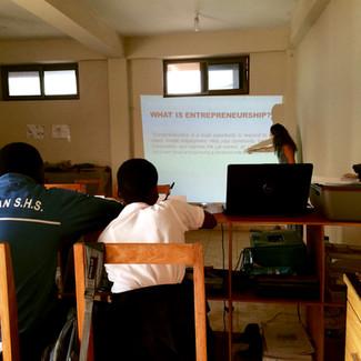 Training Up New Entrepreneurs: Pilot Phase
