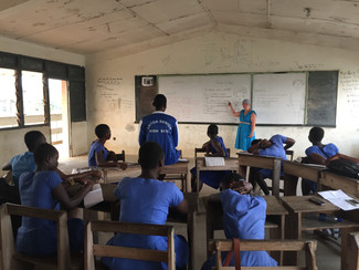 The serious reality of education in Ghana
