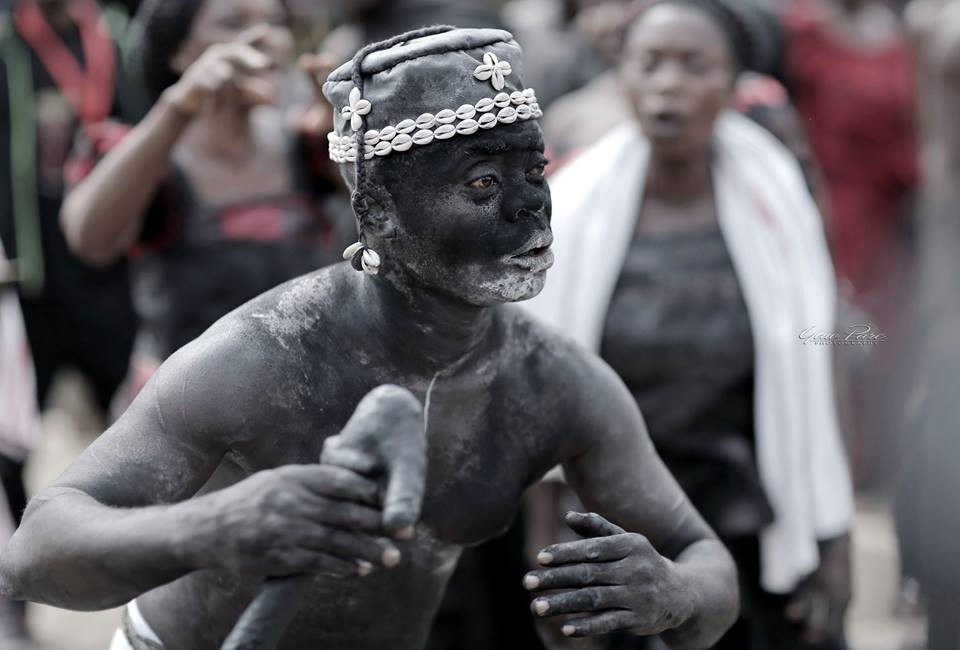 Photo from Asantehemaa's funeral by Yaw Pare