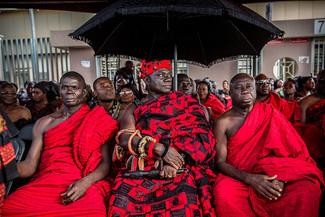 Funeral Customs in Ghana
