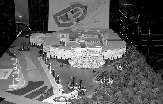 Forum Shops Building Model 1990