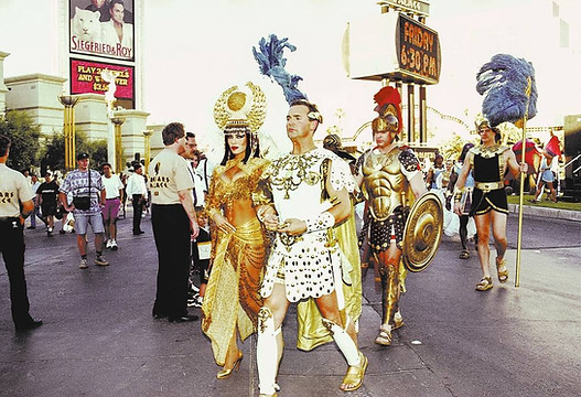 Forum Shops Grand Opening 1992