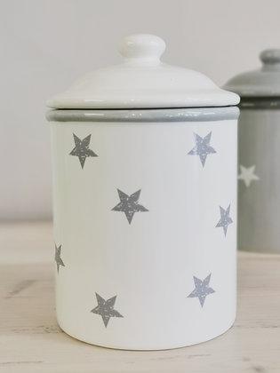White Star Cookie Jar