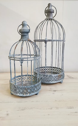 Antique Rust Bird Cage