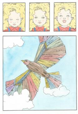 Laura e o pássaro