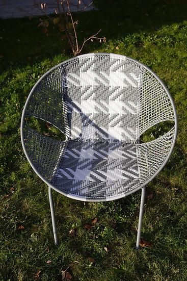 Chaise D66 Gris / Blanc