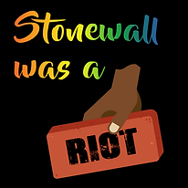 Stonewall was a riot black background.pn
