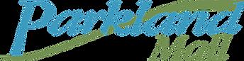 The logo for Parkland Mall