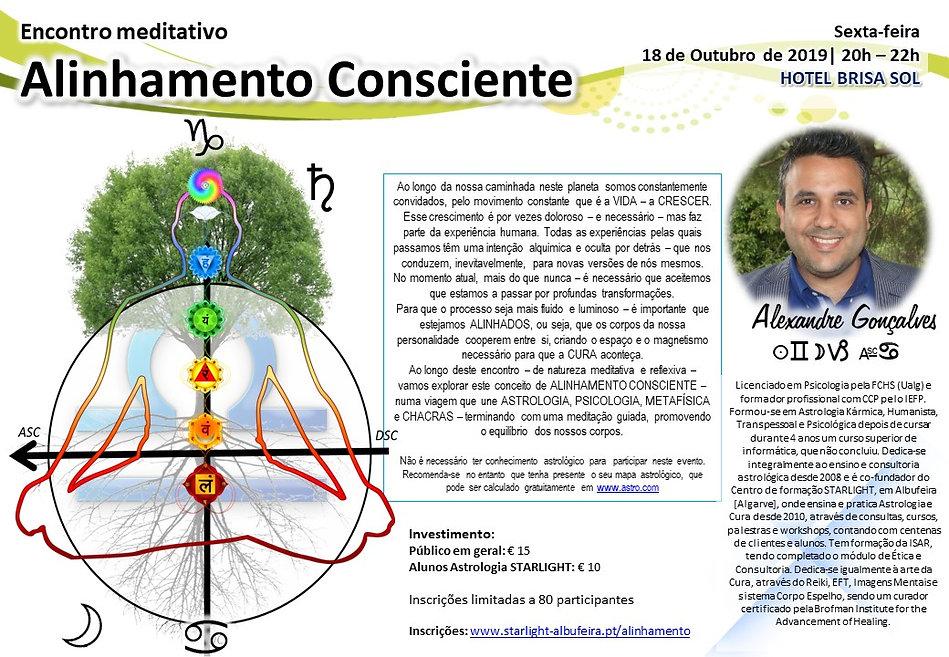 Encontro Meditativo Alinhamento Conscien