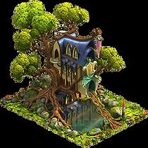 Elvenar Woodelves Residence