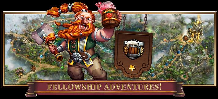 Elvenar Fellowship Приключения