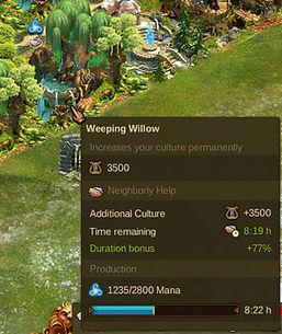 Elvenar Weeping Willow Hover