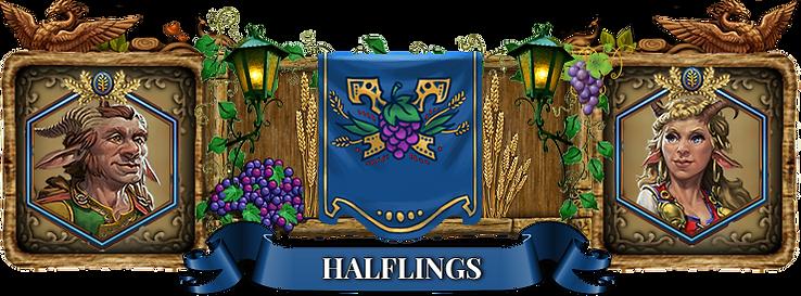 Elvenar Halflings
