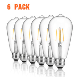 zanflare Filament Lamp Set Of 6